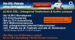 3 Monate kostenlos o2 DSL nutzen und 15€ Gewinn machen @ obocom