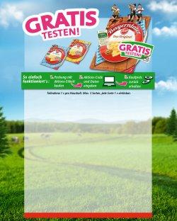 6 Packungen Bayerntaler Käse von Zott kostenlos testen