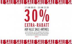 30 Prozent Extra Rabatt auf alle Sale Artikel bei WE Fashion