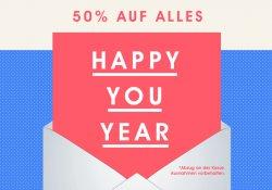 50% Rabatt auf alles bei fab.de
