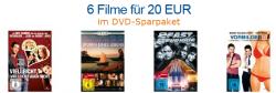 6 Filme für 20€ im DVD-Sparpaket @Amazon