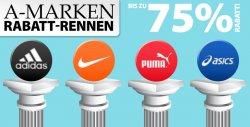 A-Marken Rabatt Rennen mit bis zu 75 Prozent Rabatt bei Pluto Sport