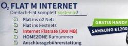 Aktion: 3 fach Flat komplett kostenlos mit Gratis Handy 0€ mtl.! @handy2day.de