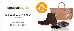 Heute bei Amazon BuyVIP: Liebeskind bis zu 60% reduziert nur bis 19.01.