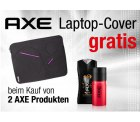 Amazon: Gratis Laptop-Cover bei Kauf von 2 AXE Produkten