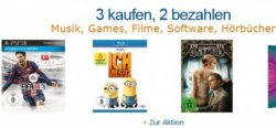 Amazon Konter: 3 für 2 Saturn Aktion