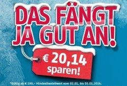 BIS MORGEN: Medion 20,14 €-Gutschein – das fängt ja gut an (199€ MBW)