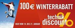 Bis zu 100 €uro Winterrabatt @cyberport vom 14. bis 21. Januar im Discountbereich mit Gutscheincode