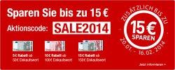 Bis zu 15€ sparen dank Gutschein bei Galeria-Kaufhof