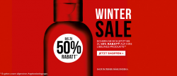 Bis zu 50% Rabatt im The Body Shop Wintersale