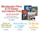 Blockbuster-Filme und TV-Serien auf DVD und Blu-ray zum kleinen Preis auf Amazon – nur bis zum 26.01