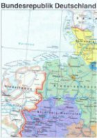 Bundesrepublik Deutschland und Europa Karte Gratis bestellen