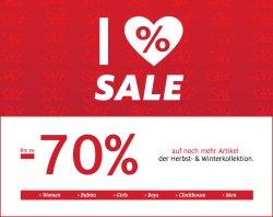 C&A Sale bis zu 70% Rabatt