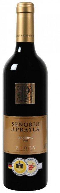 Den Señorio de Prayla Rioja DOCa Reserva mit Gutschein für nur 3,74€ je Flasche (bei Abnahme von 2 Kisten!) @weinvorteil.de