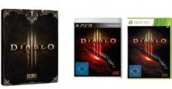 Diablo III ab 22,97€ für PC, PlayStation 3 und Xbox 360 + Steelbook gratis @Amazon