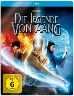 Die Legende von Aang im Steelbook Blu Ray für 1,00 Euro inkl. Versand (statt 8,89 Euro Idealo) bei MediaMarkt