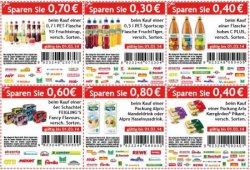 Lokal] Diverse Einkaufsgutscheine zum Ausdrucken für Getränke