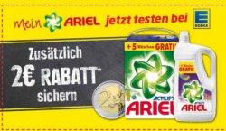 [Lokal] Edeka: 2,00 € Coupon für Ariel Waschmittel
