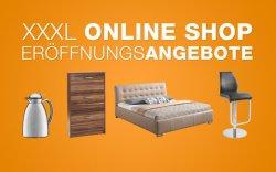 Eröffnungsangebote im XXXL Möbelhäuser Onlineshop + Gutschein für kostenlosen Versand