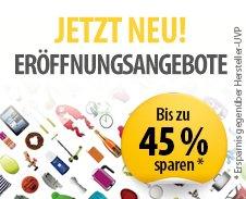 Eröffnungsangebote mit bie zu 45% Rabatt neuer Shops @meinpaket.de