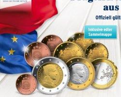 Euro-Kursmünzensatz Lettland in hochwertiger Sammelmappe für 6,50 bei Tchibo inkl. Versand