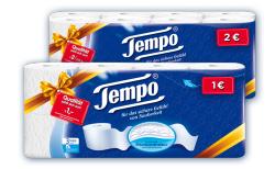 Geld zurück beim Kauf von Tempo Toilettenpapier, Aktionspackungen @jetzt-geld-zurueck.com