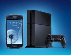 Getmobile: 24Mon.Vertrag für 29,90€/mtl. für Sony PS4, Samsung Galaxy mini III, 3000 SMS, Vodafone + Wunschflat + 300MB Internet