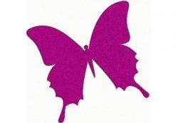 Gratis bei Wandtattoo4all: Schmetterling versandkostenfrei in Wunschfarbe