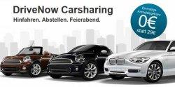 Gratis statt 29,90€ Anmeldung bei DriveNow durch Promolink