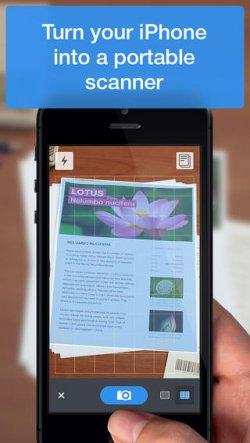 Gratis statt 5,99€ ! für kurze Zeit: Scanner Pro für iOS iPhone iPad