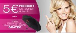 Henkel : Beautywochen ! 5€ Gutschein oder Automatikschirm sichern bei Produkt-Kauf von 10€