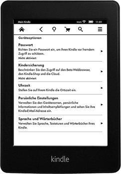 Kindle Paperwhite WiFi (2013) nur 99,00€ inkl. Versand (129,00€ Idealo) @Amazon