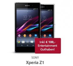 Live Deal bei Sparhandy zb. LG G2 oder Sony Xperia Z1 Zuzahlung 1€ Allnet Flat 29,99€ mtl..