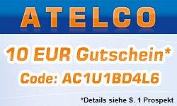 [LOKAL] 10€ Atelco Gutschein (MBW 100€) Mi, 01.01.14 bis Di, 14.01.14 @Atelco.de