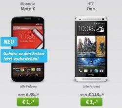 Neuer Sparhandy LiveDeal mit MoWoTel Easy Vertrag für 14,95€/Monat mit HTC One, Galaxy S4… für einmalige 1€