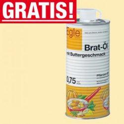 Neukundenaktion bei egle.de: 0,75l Bratöl Buttergeschmack + 0,55l Frischebox + Suppe Versandkostenfrei (MBW nur 5€)