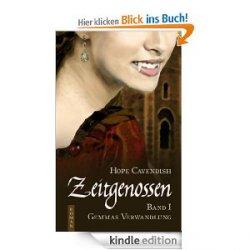 Noch ne eBook-Aktion: nur 0,99 statt 3,99 €/8,99€- Zeitgenossen – Gemmas Verwandlung Historischer Vampirroman von Hope Cavendish @Amazon