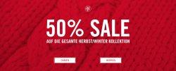 Sale 50% Rabatt auf die komplette Herbst/Winter Kollektion@Marc O'Polo