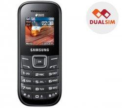 SAMSUNG E1202 Dual Sim Handy in schwarz für nur 19,90 € (36,71 € Idealo) @Pixmania
