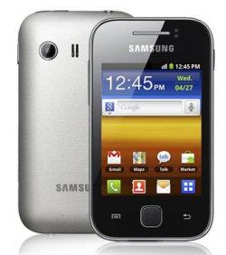 Samsung Galaxy Y S5360 Android Smartphone für 49€ inkl. Versand (Ohne SIM-Lock / Net Lock, ohne Branding)@Base