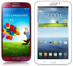 Samsung S4 + Galaxy Tab 3 für 1€ Zuzahlung + BASE all-in Allnet-Flat für 35€/mtl.@logitel