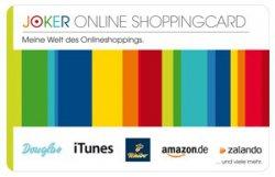 Satte 4% Rabatt auf Amazon, Zalando, Tchibo, iTunes, Douglas, … durch joker-gutscheinkauf