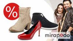 Schuh Sale bei mirapodo, Schnäppchen bis zu 70% reduziert