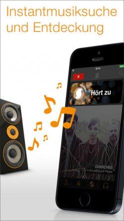 SoundHound für iOS Geräte GRATIS statt 5,99€ @iTunes Store