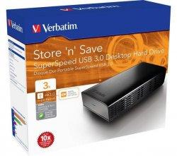 VERBATIM  Store n Save Externe Festplatten 2TB bis 4TB sehr günstig – z.B. 2 TB für 68,90€ inkl. Versand (Idealo 89,63€) @Pixmania.de
