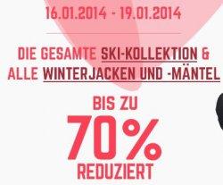 Wintersale bei C&A, bis zu 70% Rabatt auf Winterkleidung nur bis 19.01.14