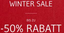 Wintersale mit bis zu 50% Rabatt bei Seidensticker
