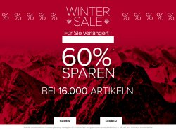 Wintersale mit bis zu 60% Rabatt bei Dress for Less