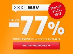 Winterschlussverkauf mit 25€ Neukundengutschein im Online-Shops von XXXL