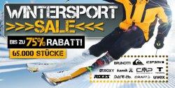 Wintersport Sale mit bis zu 75 Prozent Rabatt bei PlutoSport.de
